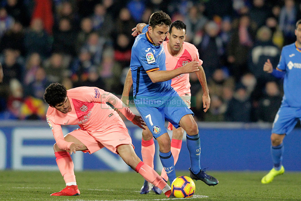 صور مباراة : خيتافي - برشلونة 1-2 ( 06-01-2019 ) 664964-028