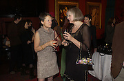 Alison Samuel and Phillipa Perry, Grayson Perry by Wendy Jones launch party. Leighton House. Holland Park. London. 17 January 2006. January 2006.  ONE TIME USE ONLY - DO NOT ARCHIVE  © Copyright Photograph by Dafydd Jones 66 Stockwell Park Rd. London SW9 0DA Tel 020 7733 0108 www.dafjones.com