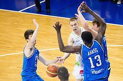 Klemen Prepelic of Slovenia during basketball match between National team of Slovenia and Italy in First Round of U20 Men European Championship Slovenia 2012, on July 12, 2012 in Domzale, Slovenia.  (Photo by Vid Ponikvar / Sportida.com)
