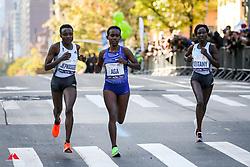 Joyciline Jepkosgei, Ruti Aga, Mary Keitany<br /> TCS New York City Marathon 2019