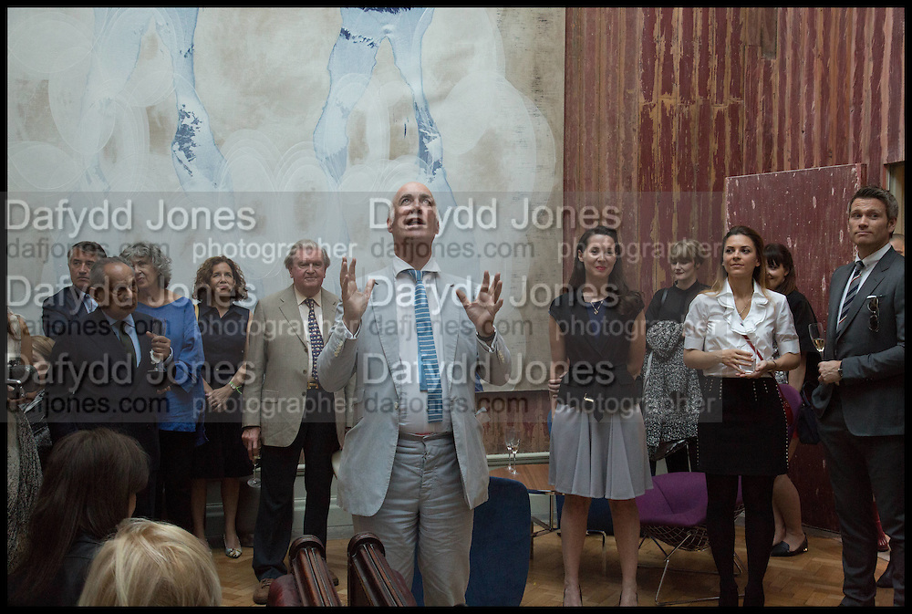 CHARLES SAUMAREZ SMITH; VICTORIA SIDDALL, Drinks party to launch this year's Frieze Masters.Hosted by Charles Saumarez Smith and Victoria Siddall<br />  Academicians' room - The Keepers House. Royal Academy. Piccadilly. London. 3 July 2014