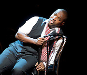 Charlie Parker's Yardbird<br /> by Daniel Schnyder <br /> librettist Bridgette A. Wimberly <br /> English National Opera <br /> at Hackney Empire, London, Great Britain <br /> 7th June 2017 <br /> <br /> <br /> Lawrence Brownlee as Charlie Parker <br /> <br /> <br /> <br /> <br />  <br /> Photograph by Elliott Franks <br /> Image licensed to Elliott Franks Photography Services