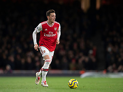 LONDON, ENGLAND - Thursday, December 5, 2019: Arsenal's Mesut Özil during the FA Premier League match between Arsenal FC and Brighton & Hove Albion FC at the Emirates Stadium. (Pic by Vegard Grott/Propaganda)