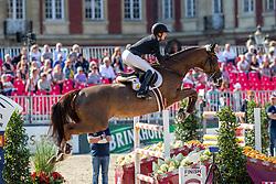 MÜLLER Kathrin (GER), FELITIA DH<br /> Münster - Turnier der Sieger 2019<br /> MARKTKAUF - CUP<br /> BEMER-Riders Tour - Qualifier for the rating competition (comp no 11)  - Stechen<br /> CSI4* - Int. Jumping competition with jump-off (1.50 m) - Large Tour<br /> 03. August 2019<br /> © www.sportfotos-lafrentz.de/Stefan Lafrentz