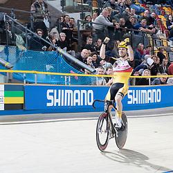 29-12-2018: Wielrennen: NK Baan: Apeldoorn <br />Yoeri Havik pakt op overtuigende manier de titel in de klassementswedstr4ijd