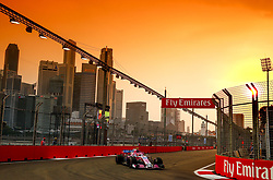 September 15, 2018 - Singapore, Singapore - Motorsports: FIA Formula One World Championship 2018, Grand Prix of Singapore, .#31 Esteban Ocon (FRA, Racing Point Force India F1 Team) (Credit Image: © Hoch Zwei via ZUMA Wire)