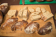 Dillon Debauche of Little T Baker created a fermented bread out of the Edison Wheat.
