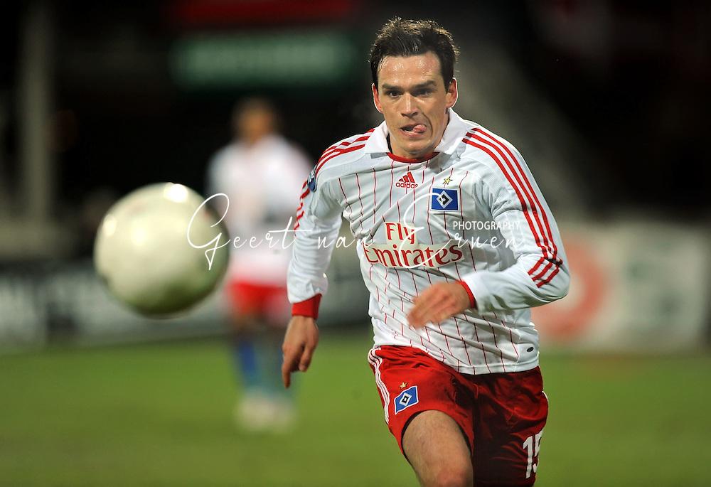 18-02-2009: voetbal: NEC - Hamburger SV: Nijmegen: UEFA Cup<br /> Piotr TROCHOWSKI (<br /> Fotograf: Geert van Erven