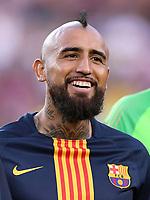 FUSSBALL  INTERNATIONAL   SAISON 2018/2019   15.08.2018 Joan Gamper Cup 2018 FC Barcelona - Boca Juniors Arturo Vidal (Barca)