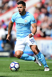 Sergio Aguero of Manchester City - Mandatory by-line: Alex James/JMP - 26/08/2017 - FOOTBALL - Vitality Stadium - Bournemouth, England - Bournemouth v Manchester City - Premier League