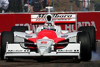 Sam Hornish Jr. at St. Petersburg, Honda Grand Prix of St. Petersburg, April 3, 2005