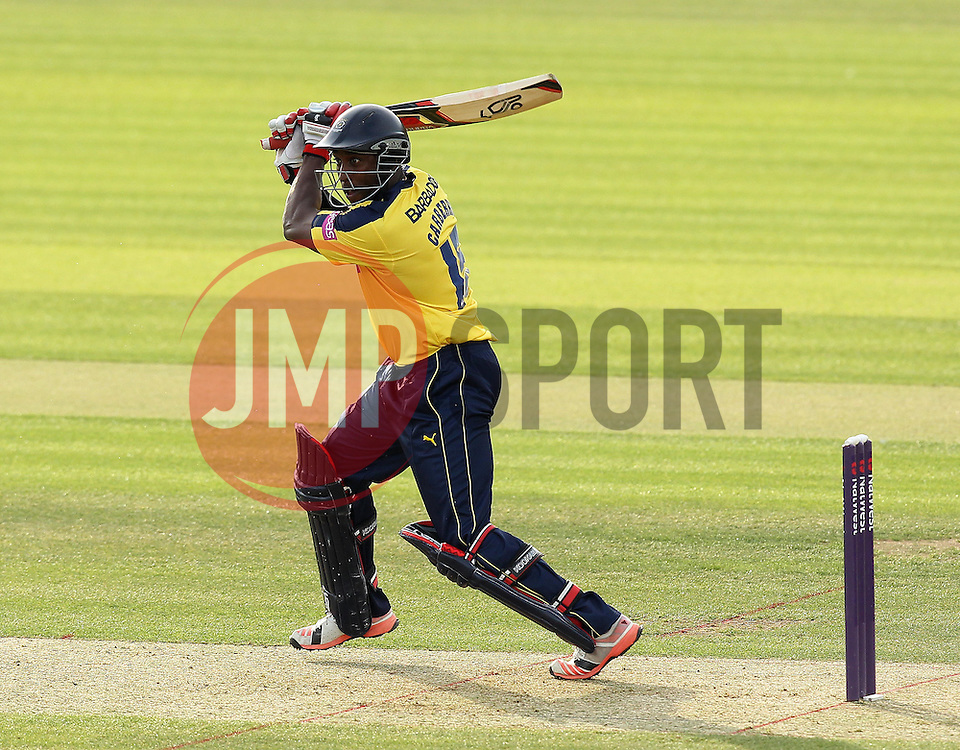 Hampshire's Michael Carberry bats - Photo mandatory by-line: Robbie Stephenson/JMP - Mobile: 07966 386802 - 19/06/2015 - SPORT - Cricket - Southampton - The Ageas Bowl - Hampshire v Sussex - Natwest T20 Blast