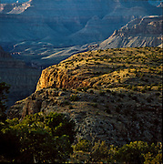 Sunset on the edge of Horseshoe Mesa, Grand Canyon National Park, Arizona