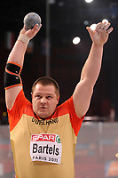 ATHLETICS - INDOOR EUROPEAN CHAMPIONSHIPS PARIS-BERCY 2011 - FRANCE - DAY 1 - 04/03/2011 - PHOTO : JULIEN CROSNIER / DPPI - SHOT PUT - RALF BARTELS (GER) / WINNER