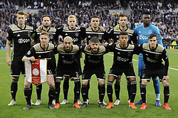 April 30, 2019 - London, England, United Kingdom - Ajax Team shoot.during UEFA Championship League Semi- Final 1st Leg between Tottenham Hotspur  and Ajax at Tottenham Hotspur Stadium , London, UK on 30 Apr 2019. (Credit Image: © Action Foto Sport/NurPhoto via ZUMA Press)