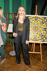 BECKY TONG at an Evening of Riviera Inspired Glamour in aid of CLIC Sargentheld at Sketch, 9 Conduit Street, London on 25th January 2016.