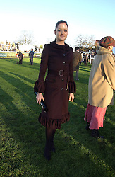 LADY ELOISE ANSON at the 50th running of the Hennessy Gold Cup at Newbury Racecourse, Berkshire on 25th November 2006.<br /><br />NON EXCLUSIVE - WORLD RIGHTS