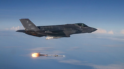 F-35A Lightning II test aircraft assigned to the 31st Test Evaluation Squadron from Edwards Air Force Base, Calif., released AIM-120 AMRAAM and AIM-9X missiles at QF-16 targets during a live-fire test over an Air Force range in the Gulf of Mexico on June 12, 2018. The Joint Operational Test Team conducted the missions as part of Block 3F Initial Operational Test and Evaluation.