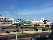 Israel, Port of Haifa,
