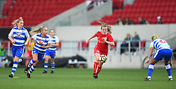 Hayley Ladd of Bristol City Women in action against Reading FC Women - Mandatory by-line: Paul Knight/JMP - 22/04/2017 - FOOTBALL - Ashton Gate - Bristol, England - Bristol City Women v Reading Women - FA Women's Super League 1 Spring Series