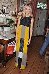 FLORENCE BRUDENELL-BRUCE at a lunch to celebrate the the Lulu & Co Autumn/Winter 2011 collection held at Harry's Bar, 26 South Audley Street, London W1 on 21st June 2011.
