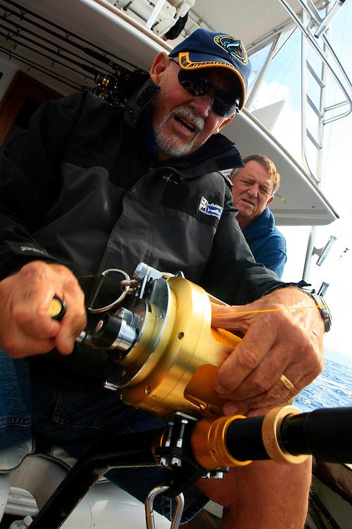 Daytime swordfishing in Islamorada aboard tthe Catch 22 with Richard Stanczyk