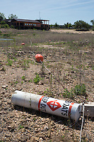 Lake Buchanan, TX. Lake  was at approximately 35% of capacity during the drought.