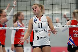 20190112 NED: Sliedrecht Sport - VC Sneek: Sliedrecht<br />Ana Rekar (11) of Sliedrecht Sport <br />©2019-FotoHoogendoorn.nl / Pim Waslander