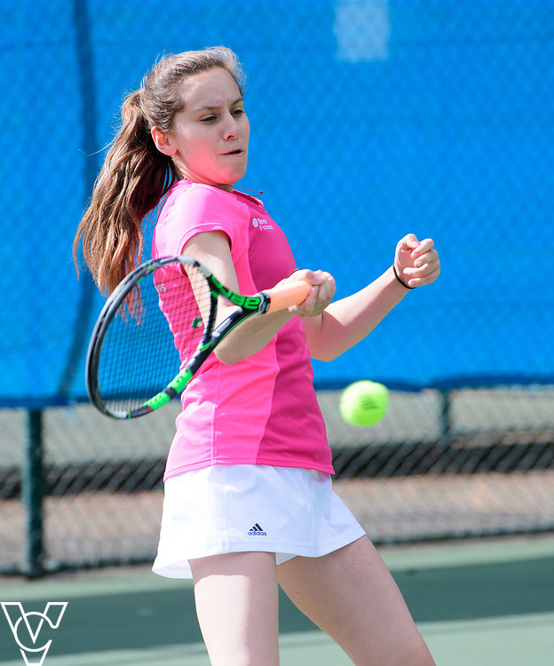 Team Tennis Schools National Championships Finals 2017 held at Nottingham Tennis Centre.  Wilmslow High School<br /> <br /> Picture: Chris Vaughan Photography for the LTA<br /> Date: July 12, 2017