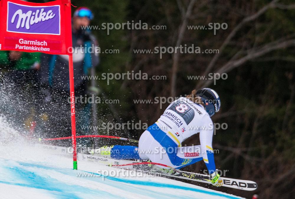 07.02.2016, Kandahar, Garmisch Partenkirchen, GER, FIS Weltcup Ski Alpin, Super G, Damen, im Bild Kajsa Kling (SWE) // Kajsa Kling of Sweden competes during the ladies SuperG of Garmisch FIS Ski Alpine World Cup at the Kandahar course in Garmisch Partenkirchen, Germany on 2016/02/07. EXPA Pictures © 2016, PhotoCredit: EXPA/ Johann Groder