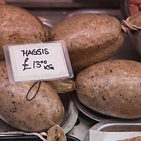 LONDON, ENGLAND - JANUARY 23:  Haggis is sold at a butcher shop to people who will celebrate Burns night on Monday on January 23, 2010 in London, England. Scots across the world annually celebrate on January 25th the life of Robert Burns, the country's most famous bard, with recitations of his poetry, the eating of haggis and imbibing of whisky.  (Photo by Marco Secchi/Getty Images)...