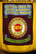 National Union of Dyers Bleachers and Textile Workers banner