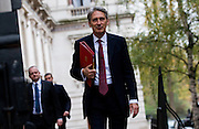 UNITED KINGDOM, London: 17 November 2015 Philip Hammond Secretary of State for Foreign and Commonwealth Affairs arrives to attend Cabinet Meeting at 10 Downing Street in London, England. Picture by Andrew Cowie / Story Picture Agency
