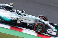Nico Rosberg (GER) Mercedes AMG F1 W05.<br /> Japanese Grand Prix, Friday 3rd October 2014. Suzuka, Japan.