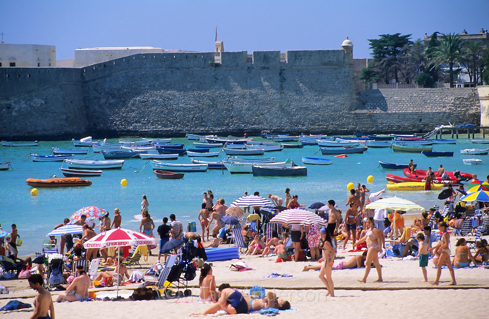 Playa de la Caleta (Caleta Beach), Cadiz, Spain