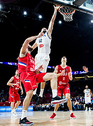 Marco Cusin of Italy during basketball match between National Teams of Italy and Serbia at Day 14 in Round of 16 of the FIBA EuroBasket 2017 at Sinan Erdem Dome in Istanbul, Turkey on September 13, 2017. Photo by Vid Ponikvar / Sportida