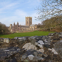 UK, Wales, St. Davids. The St. David's Cathedral