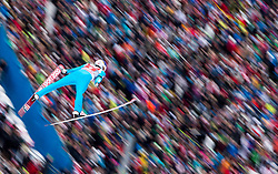 04.01.2015, Bergisel Schanze, Innsbruck, AUT, FIS Ski Sprung Weltcup, 63. Vierschanzentournee, Innsbruck, Probesprung, im Bild Lauri Asikainen (FIN) // Lauri Asikainen of Finland during the Trial Jump for the 63rd Four Hills Tournament of FIS Ski Jumping World Cup at the Bergisel Schanze in Innsbruck, Austria on 2015/01/04. EXPA Pictures © 2015, PhotoCredit: EXPA/ JFK