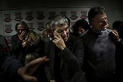 Nichi Vendola durante la presentazione delle liste di Sinistra Ecologia e Libertà per Camera e Senato di Roma e del Lazio. Roma, 21 gennaio 2013. Christian Mantuano /  Oneshot
