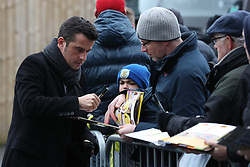 Watford manager Marco Silva before the Premier League match at Turf Moor, Burnley.