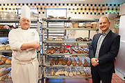 Culinary Institute of America, Poughkeepsie, November 2016.<br /> <br /> Hans J. Welker (l) und Student Alexander Lipkau (r)<br /> <br /> Photo &copy; Stefan Falke <br /> New York <br /> www.stefanfalke.com <br /> stefanfalke@mac.com <br /> 917-2149029
