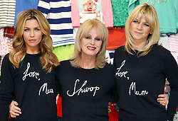 Abbey Clancy, Joanna Lumley at Zoe Ball at the launch in London of the 'Love, Mum' campaign by Marks & Spencer and Oxfam to raise money for mothers living in poverty,  Tuesday, 4th February 2014. Picture by Stephen Lock / i-Images