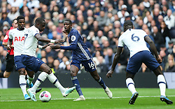 Abdoulaye Doucoure of Watford tries to thread a ball through the defence - Mandatory by-line: Arron Gent/JMP - 19/10/2019 - FOOTBALL - Tottenham Hotspur Stadium - London, England - Tottenham Hotspur v Watford - Premier League