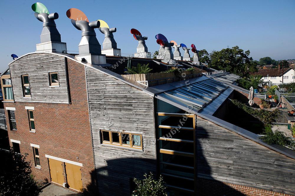Bedzed Zero Emissions Housing London Uk