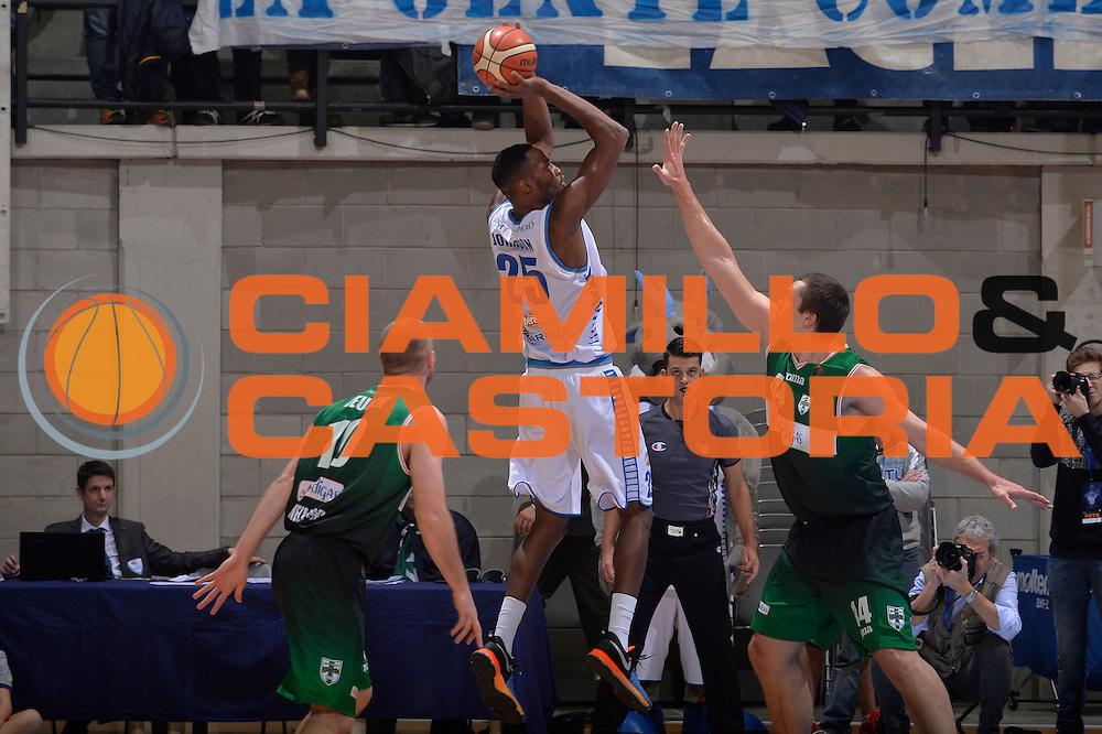 JaJuan Johnson<br /> Red October Pallacanestro Cantu - Sidigas Scandone Avellino<br /> Lega Basket Serie A 2016/2017<br /> Desio, 12/12/2016<br /> Foto Ciamillo-Castoria