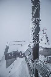 THEMENBILD - Gebäudeansicht am Sonnblick Observatorium, aufgenommen am 20. November 2018, Rauris, Österreich // building view at the  Observatory Sonnblick on 2018/11/20, Rauris, Austria. EXPA Pictures © 2018, PhotoCredit: EXPA/ JFK
