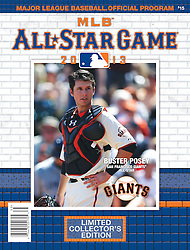 Buster Posey, All-Star Game Program, 2013
