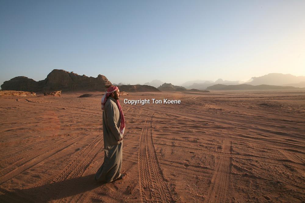 Desert in JordanBedouin in Jordan