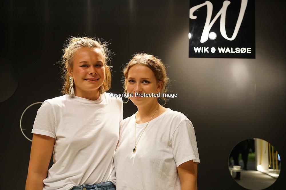 Old Truman Brewery, London, England, UK. 22th September 2017. Wik & Walsøe is a norwegian design showcases some Christmas porcelain at London Design Fair 2017.