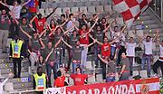 DESCRIZIONE : Trento Dolomiti Energia Trento Giorgio Tesi Group Pistoia<br /> GIOCATORE : tifosi<br /> CATEGORIA : tifosi<br /> SQUADRA : Giorgio Tesi Group Pistoia<br /> EVENTO : Campionato Lega A 2015-2016<br /> GARA : Dolomiti Energia Trento Giorgio Tesi Group Pistoia<br /> DATA : 18/10/2015 <br /> SPORT : Pallacanestro <br /> AUTORE : Agenzia Ciamillo-Castoria/A.Scaroni<br /> Galleria : Lega Basket A 2015-2016<br /> Fotonotizia : Trento Dolomiti Energia Trento Giorgio Tesi Group Pistoia<br /> Predefinita :